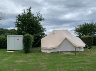 Prive Sanitair Bij Een Tent