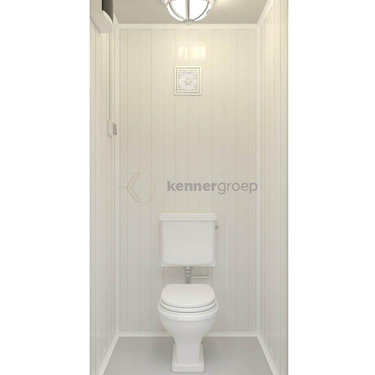 Metalen Unit Enkel, Toilet KC-WC1 Innen