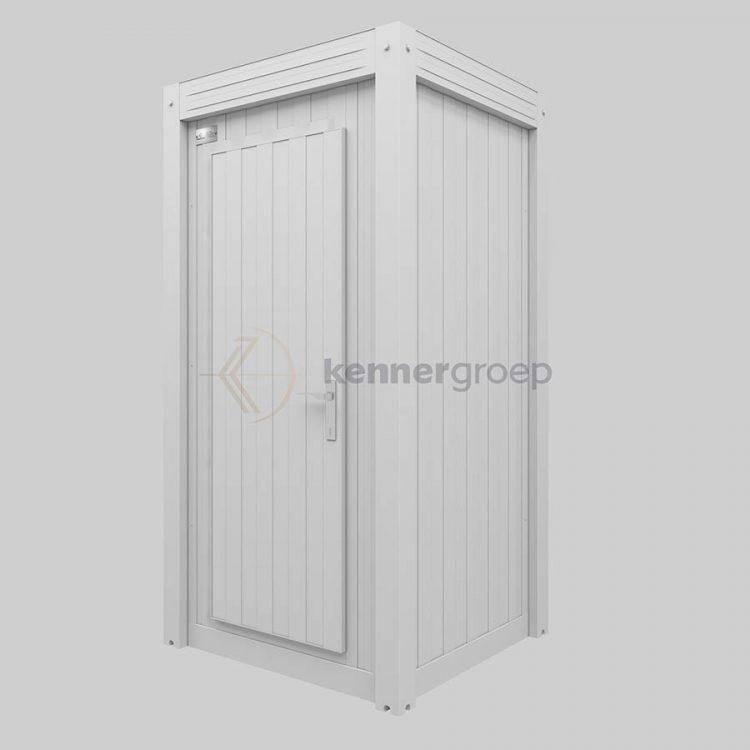 Metalen unit WC wit vanaf 995