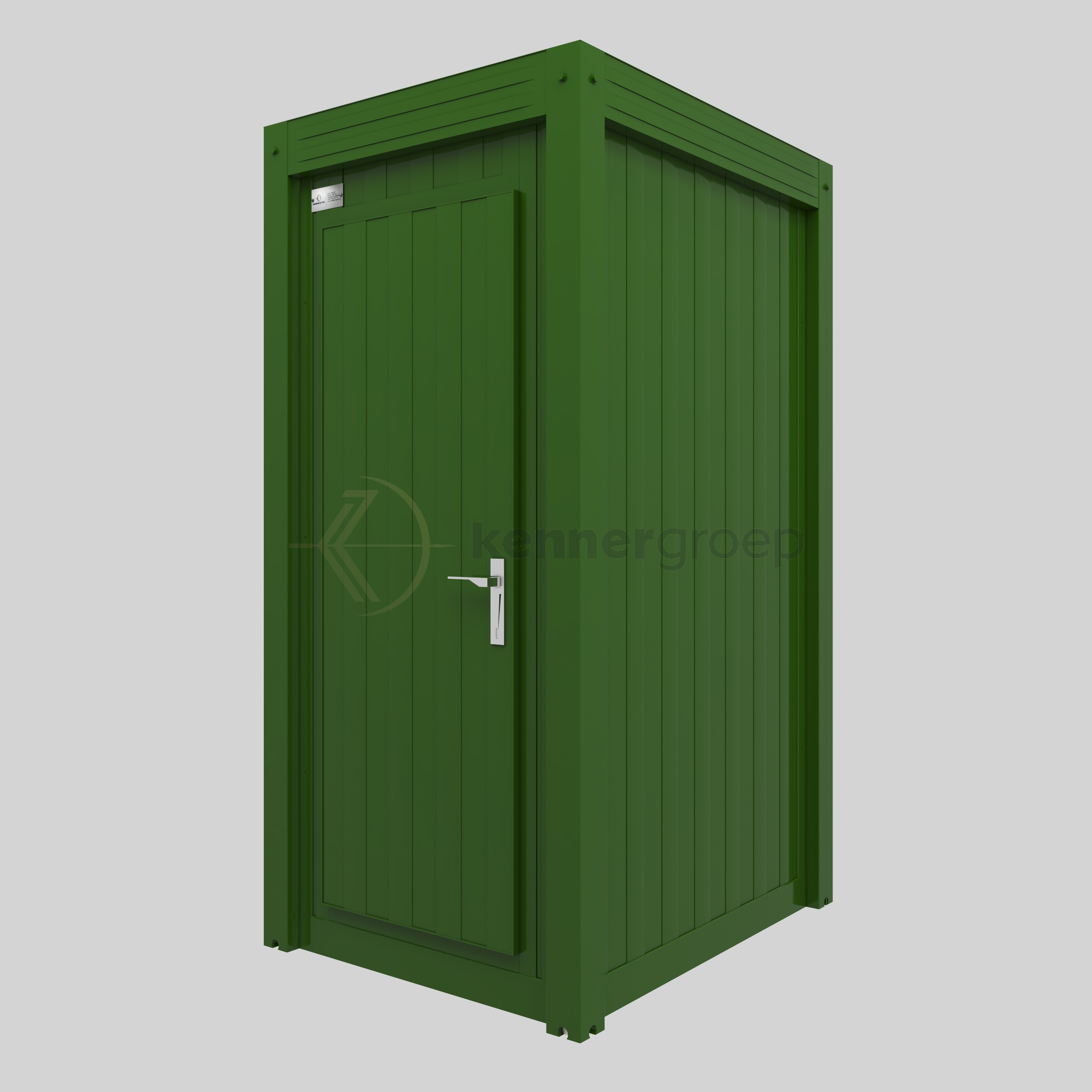 Groene Douche Unit