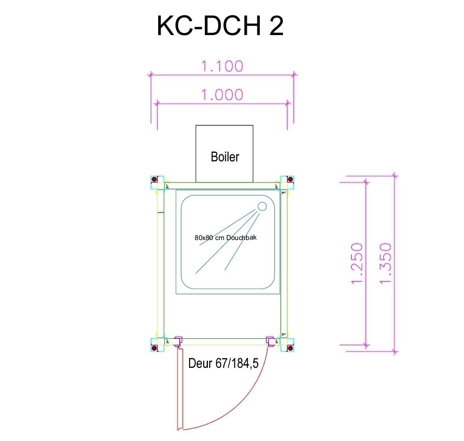 KC-DCH2 Plattegrond