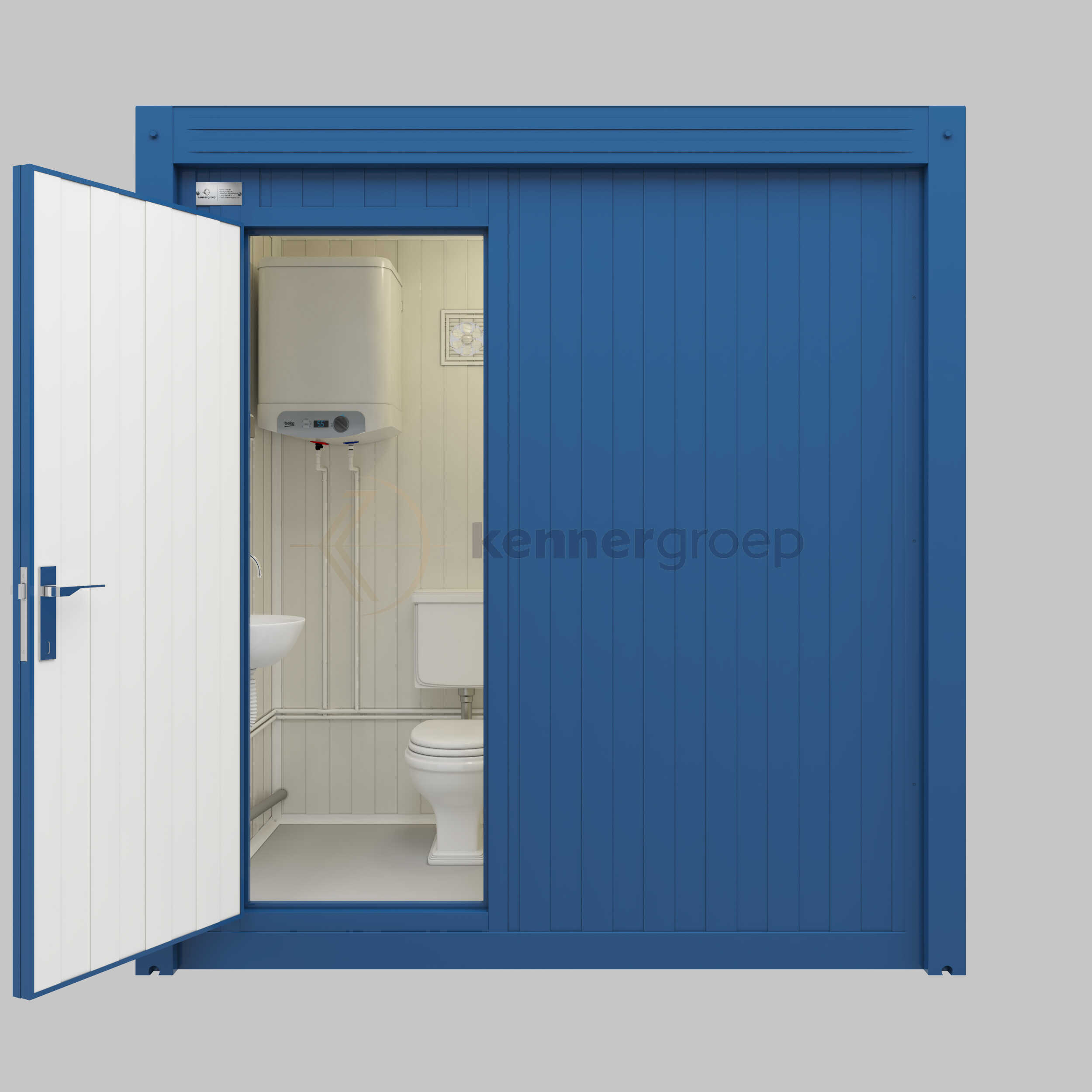 Sanitair Combi Unit Toilet En Douche